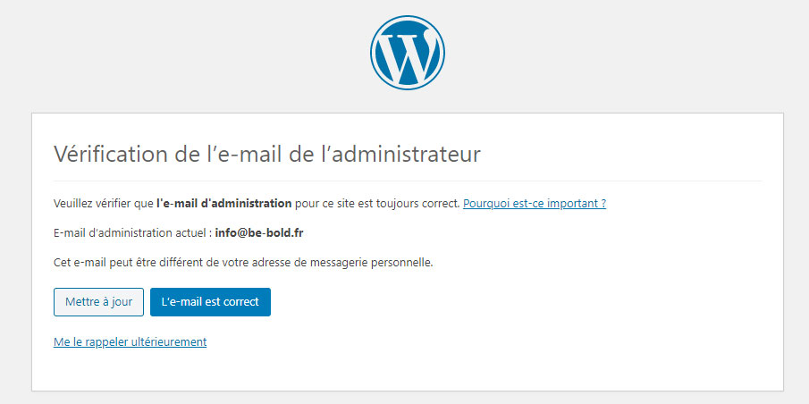 wordpress-5-3-verification-mail-administrateur