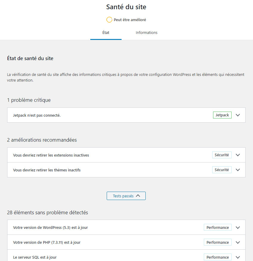wordpress-sante-site