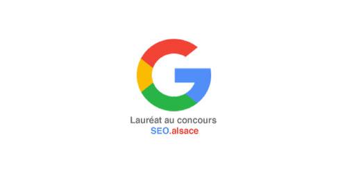 Lauréat concours SEO Alsace